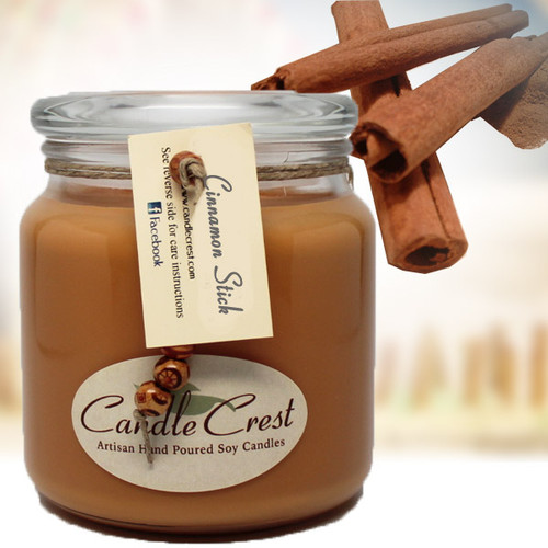If you love cinnamon, this is it. A rich and spicy scent of fresh ground cinnamon.