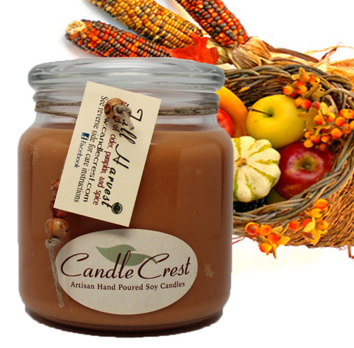 A soothing aroma of warm apple cider, pumpkin and spices blended together to give you the perfect fall fragrance you'll love.