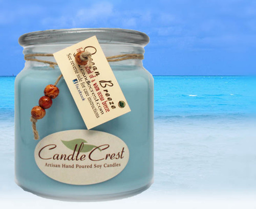 A fresh clean scent of a warm ocean breeze on a perfect Summer's day.