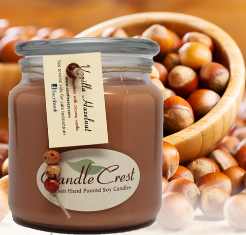 A mouthwatering blend of toasted hazelnuts and creamy vanilla.