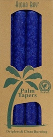 Coconut Wax Taper - Royal Blue