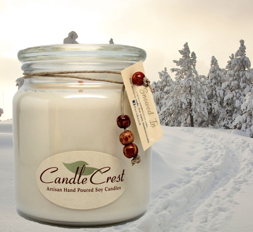 This unique fragrance tells the story of a cold winter night spent SNOWED IN! This fragrance features notes of pine with the every so popular evergreen Balsam Fir. This candle fragrance is also is infused with natural orange, cinnamon, and pine essential oils.