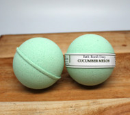 Cucumber Melon is a great bath fizzy melon-y scent.  Vegan friendly product, making bath time - ME time!
