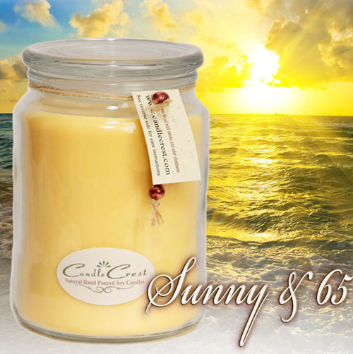 This fragrance will remind you of the feeling you get when watching the sun rise in the morning; a new day, a new, fresh beginning. This fragrance is a complex blend of just the right amount of lemon, grapefruit, clementine, green herbal floral notes, and just the right amount of amber.