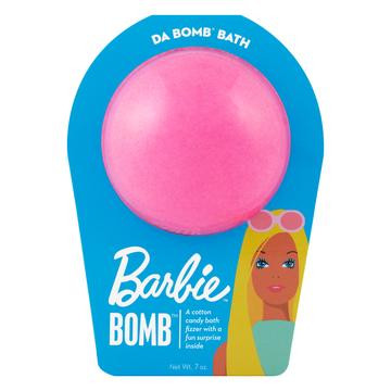 Watch carefully as this cotton candy fizzer dissolves, because there's a fun surprise inside. Perfect for adults and kids alike. (Everyone loves surprises.) Use one bomb per bath. Your bath bomb will arrive in our signature packaging, as shown.  Warning: Small parts. Not for children under 3.