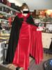 Velvet Reversible Cape with Matching Full Length Gown