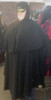 Eyes Wide Shut Cape with Cowl and Hood, full view. ( Hard to photograph black.)