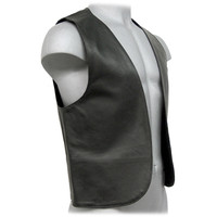 The Classic Leather Bar Vest