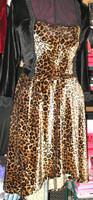 HiLo Skirt in Leopard Stretch Velvet (panel top sold separately)