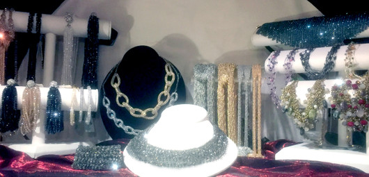 We have a wonderful selection of very fashionable jewelry at great prices.