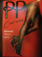 Hosiery, Pantyhose, Dernier, one size, diamond pattern