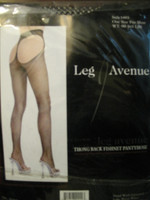 Fishnet Open Bottom Pantyhose-Leg Avenue