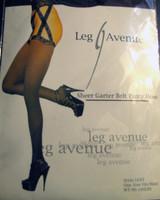 Sheer Garterbelt Pantyhose- Leg Avenue