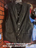 Ultrasuede washable Vest with Fancy Buttons
