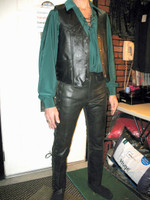 Leather Vests and Pants  in Lots of Styles