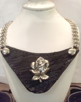 Designer Econoline Necklace or Collar with SceneWear ®Rose