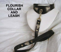 Flourish Collar  ( Has matching Leash, Wristband and other items)
