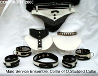 "Maid Service Collection, Collar of 'O"", Studded Collar"
