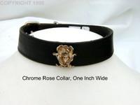 Chrome Rose Collar