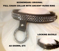 Full Chain Collar with Ancient Ruins Ring