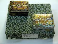 Cloissone' Brass Boxes