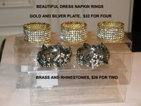 Fancy Napkin Rings ( Ltd. Quantity)