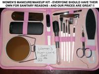 Women's Manicue and Make-up Set ( Ltd. Quantities)