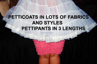 Petticoats of so many types and prices !!