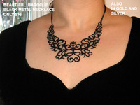 Baroque Metal Necklaces