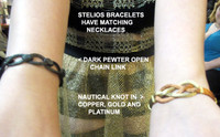 Stelios Bracelets in Precious Metals and Various Styles