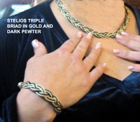 Stelios Necklaces (have Matching Bracelets) in Precious Metals