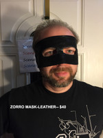 Masks We Make, like the Zoro Mask