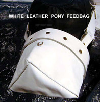 Pony Feed Bag ( many colors possible, and decorations)