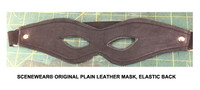 Plain Leather Mask