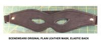 Plain Leather Mask