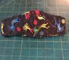 Summer Weight Cotton Fabric in the Kokopelli pattern, Shown in CHILDREN'S SIZE