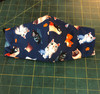 Summer Weight Cotton Fabric in the Cat Pattern, shown in CHILDREN'S SIZE