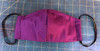 Summer Weight Cotton Fabric in the Solid Purple, shown in Medium, with Elastic around the Ears.