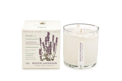 Kobo Seeds - Heath Lavender - Candle