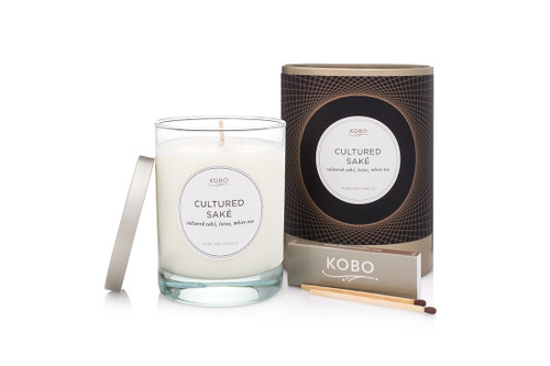 KOBO Filament - CULTURED SAKE - Candle