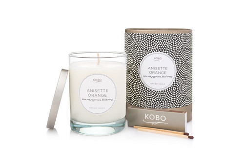 KOBO Coterie - ANISETTE ORANGE - Candle