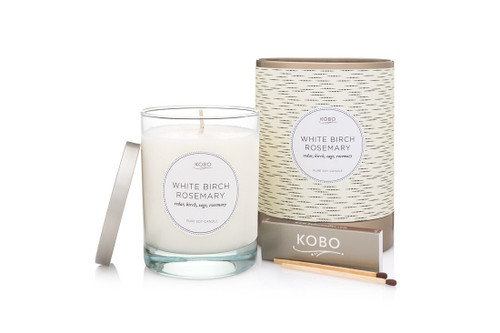 KOBO Coterie - WHITE BIRCH ROSEMARY - Candle