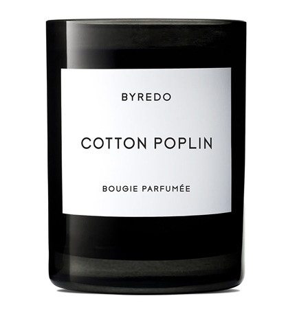 BYREDO Cotton Poplin 240g Candle