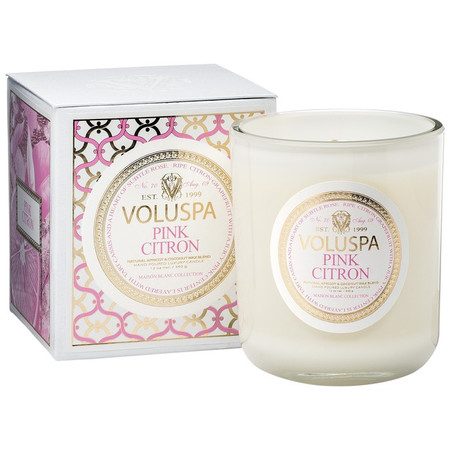 Voluspa Pink Citron Classic Candle