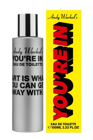 "Comme des Garcons, Andy Warhol's- You're in.  ""Art Is What ..."" EDT"