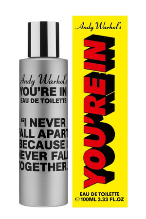 "Comme des Garcons, Andy Warhol's- You're in.  ""I Never Fall Apart..."" EDT"