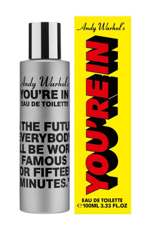 "Comme des Garcons, Andy Warhol's- You're in. ""In the Future..."" EDT"