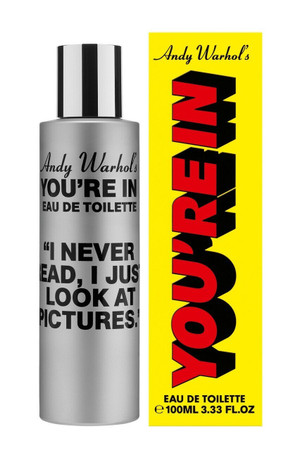 "Comme des Garcons, Andy Warhol's- You're in. ""I Never Read..."" EDT"
