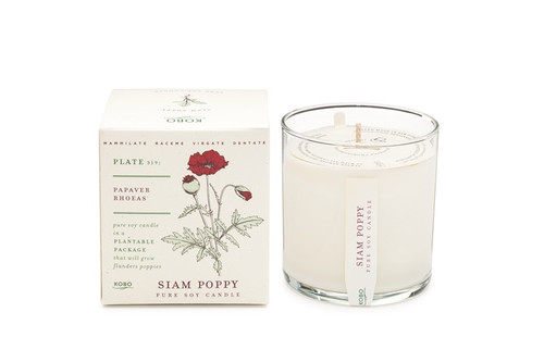 Kobo Seeds - Siam Poppy - Candle