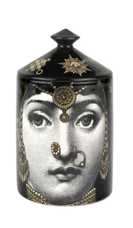 Fornasetti L'ECLAIREUSE (GOLD) Candle